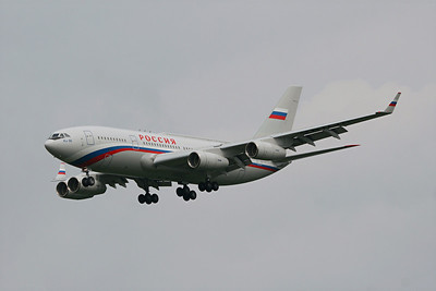 Russian State Transport Co Ilyushin IL-96-300, RA-96016, Pittsburgh PA. 9-24-09