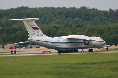 Russian Air Force Ilyushin IL-76MD, RA-76719, Pittsburgh, PA. 9-25-09