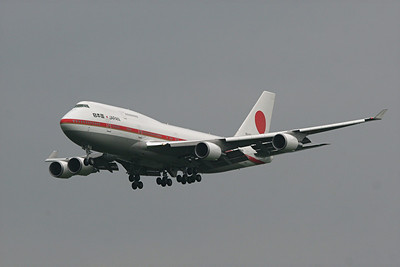 Japanese Air Force B-747-47C, 20-1101, Pittsburgh, PA. 9-24-09