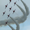 6th June 2009 - Heart of Scotland Airshow. The Red Arrows.