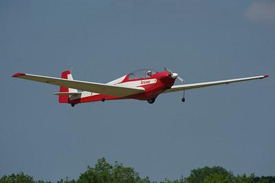 La Ferté-Alais 2010. Motoplaneur SF-28.