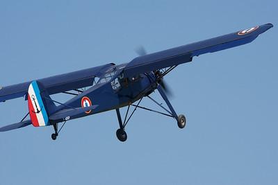 La Ferté-Alais 2010. Morane-Saulnier MS-502 criquet.