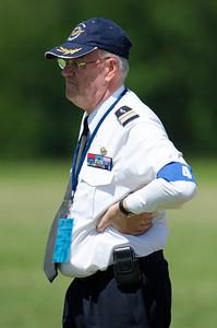 """Fête aérienne de Cerny - La Ferté-Alais. """"Le temps des hélices 2012"""". Colonel Pierre-Alain ANTOINE."""
