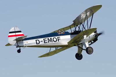 """Fête aérienne de Cerny - La Ferté-Alais. """"Le temps des hélices 2012""""."""