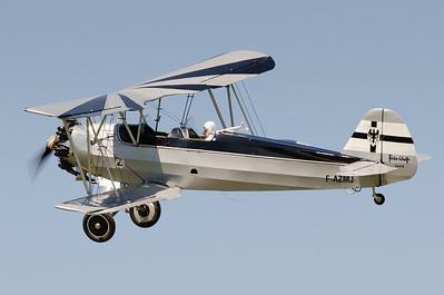 """Fête aérienne de Cerny - La Ferté-Alais. """"Le temps des hélices 2012"""". Focke-Wulf Fw 44J """"Stieglitz """" n°782."""