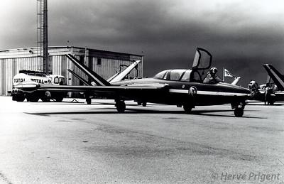 Patrouille de France au Havre (Octeville) le 14 juin 1980