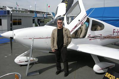 Le Bourget 2007 - Le futur avion de Christophe ?