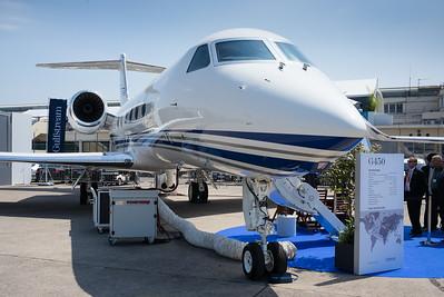 Salon du Bourget 2015. Gulfstream G450 : une merveille...