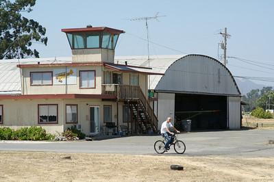 Balade en Californie suite à la WWDC 2006. Vintage Aircrafts, Sonoma Airport.