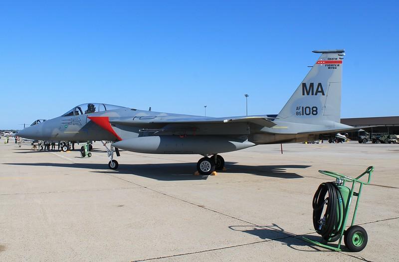 MA ANG F-15C [85-108] 104th FW Westfield, MA