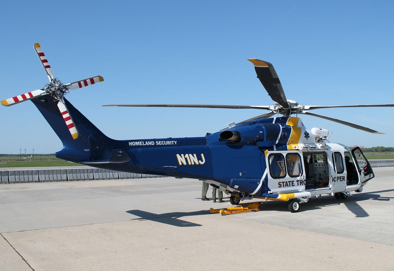 Augusta-Westland AW 139 - NJ State Police