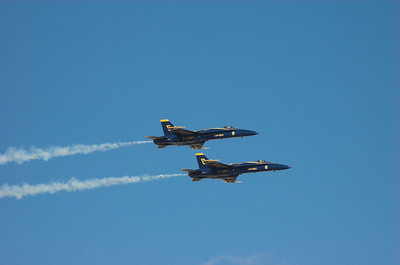 Blue Angels Solo High Speed