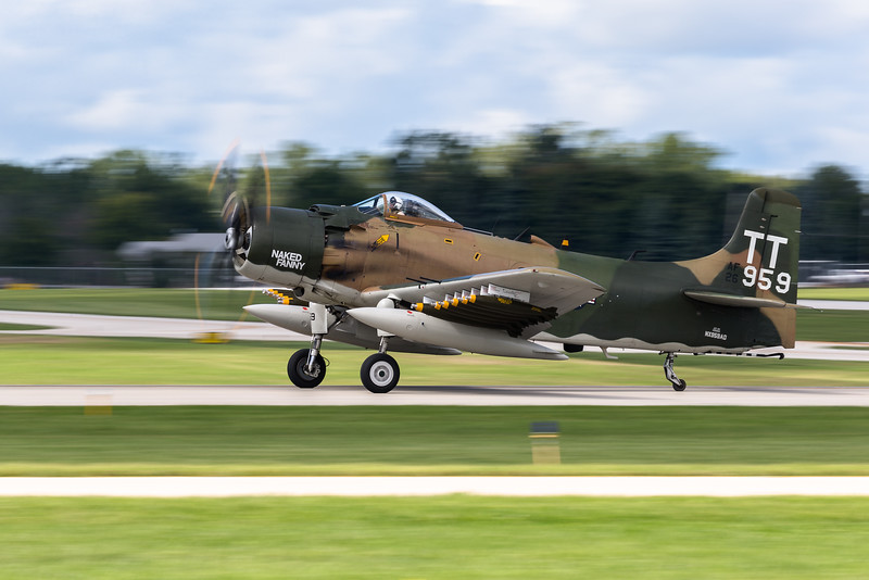 "Douglas A-1 Skyraider ""Naked Fanny"""