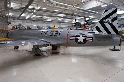 "Palm Springs Air Museum. Lockheed T-33 ""Return of Kilroy""."