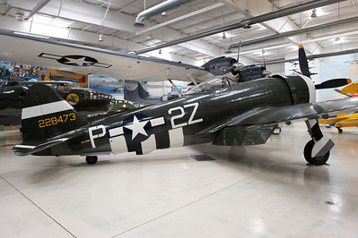 Palm Springs Air Museum. Republic P-47D Thunderbolt.