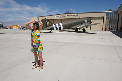 Palm Springs Air Museum. Douglas C-47 Dakota.