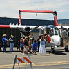 "Shot these crowd shots from Gary's pickup on the way to climb aboard the Blue Duck for some aerial shots. Felt good to sit down for a bit. The Bronco is much bigger ""live"" than I expected --- awesome airframe."