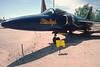 "Pima Air & Space Museum, circa 1988. Grumman F-11F ""Tiger""."