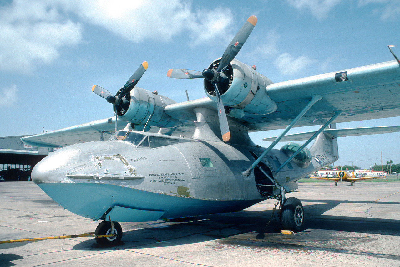 "Commemorative Air Force. Consolidated PBY ""Catalina""."