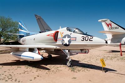 Pima Air & Space Museum, circa 1995. Douglas A4D-2 Skyhawk serial #142928.