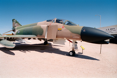 Pima Air & Space Museum, circa 1995. McDonnell F-4 Phantom II.