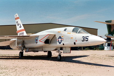 Pima Air & Space Museum, circa 1995. North American RA-5C Vigilante.