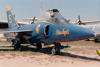 Pima Air & Space Museum, circa 1995. Grumman F-11A BuNo. 141824.