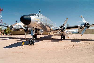 Pima Air & Space Museum, circa 1995. Lockheed VC-121A Constellation.