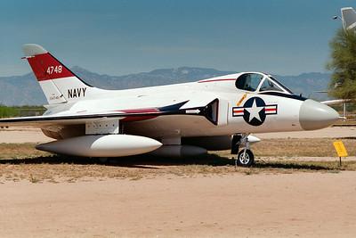 Pima Air & Space Museum, circa 1995. Douglas F4D Skyray.