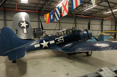 Chino Plane Of Fame Museum - Douglas SBD-5 Dauntless.