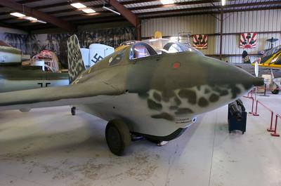 "Chino Plane Of Fame Museum - Messerschmitt Me ""Komet"""