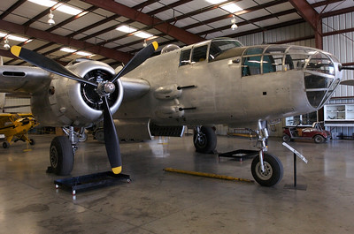 "Chino Plane Of Fame Museum - North American B-25 ""Mitchell""."