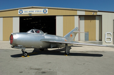 Chino Plane Of Fame Museum - MIG-15