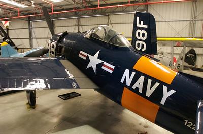 Chino Plane Of Fame Museum - Grumman F8F-2 Bearcat.