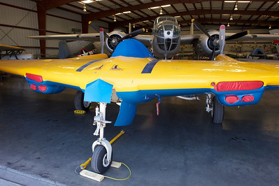 Plane of Fame Museum, Chino, CA. Northrop N-9M Flying Wing Tesbed.