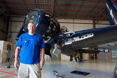 Plane of Fame Museum, Chino, CA. Grumman F8F Bearcat.