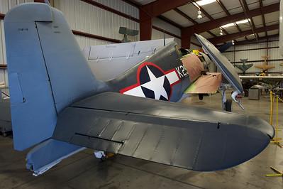Planes of Fame Museum, Chino, CA. Grumman F6F-3 Hellcat.