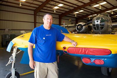 Plane of Fame Museum, Chino, CA. Northrop N-9M Flying Wing Tesbed.