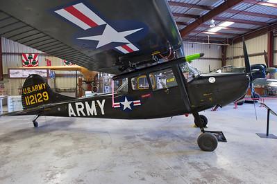 Plane of Fame Museum, Chino, CA. Cessna O-1E/L-19 Bird Dog.