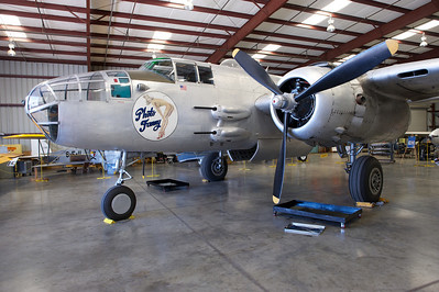 Plane of Fame Museum, Chino, CA. North American B-25 Mitchell.