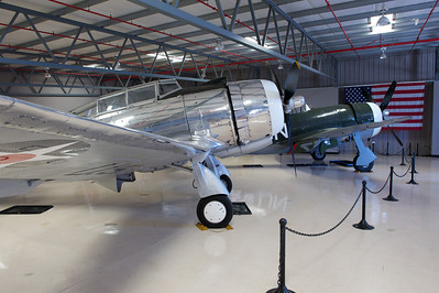 Planes of Fame Museum, Chino, CA. Seversky AT-12 Guardsman.