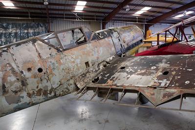 Plane of Fame Museum, Chino, CA. Messerchmitt ME-109F.