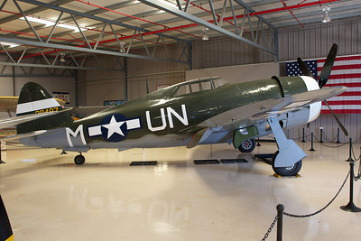 Planes of Fame Museum, Chino, CA. Republic P-47G Thunderbolt.