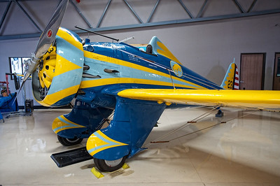 Planes Of Fame Museum - Boeing P-26A Peashooter