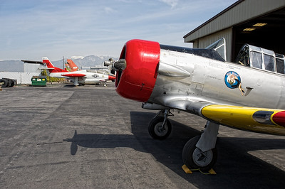 Planes Of Fame Museum - North American T-6 Texan