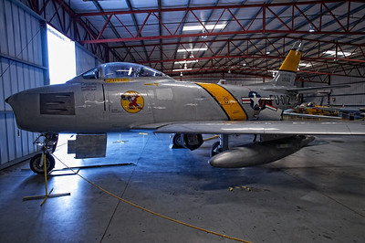 Planes Of Fame Museum - North American F-86
