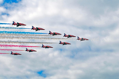 Red Arrows Big Battle Formation