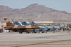US Air Force F-16C Fighting Falcons, 64th Aggressors, Nellis AFB, NV