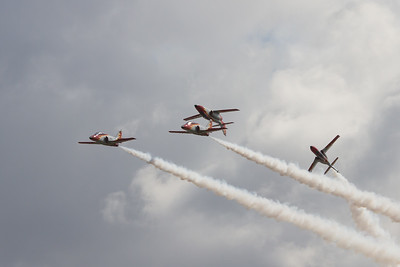 Patrull Aguila - CASA C-101EB Aviojets (Spanish Air Force Aerobatic Team)