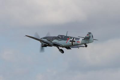 """1950 - Messerschmitt Me 109G-4 """"Red Seven"""""""